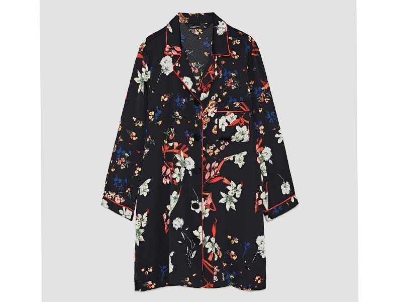 Floral print dress by Zara available at City Centres