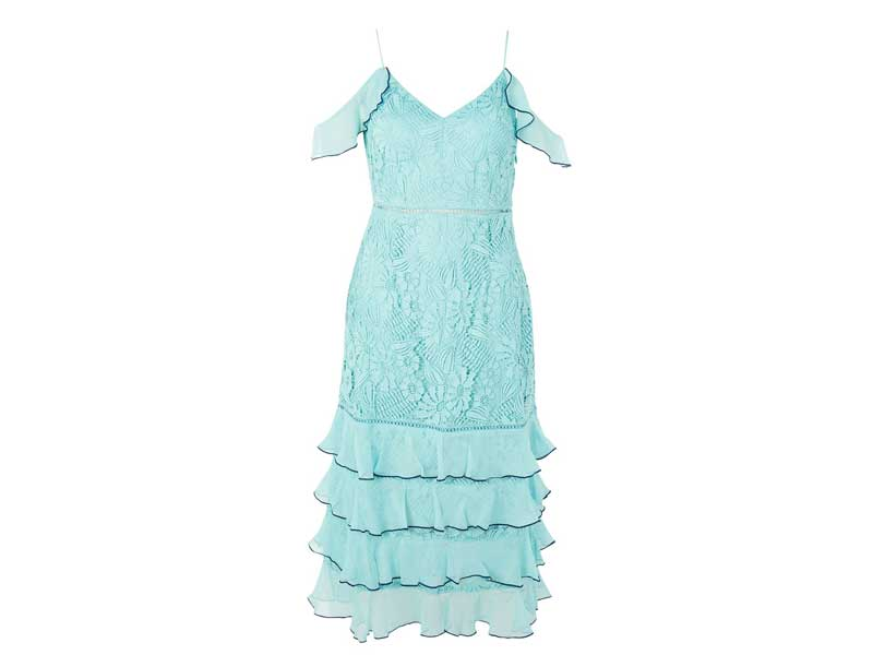 Lace dress by Topshop available at City Centres