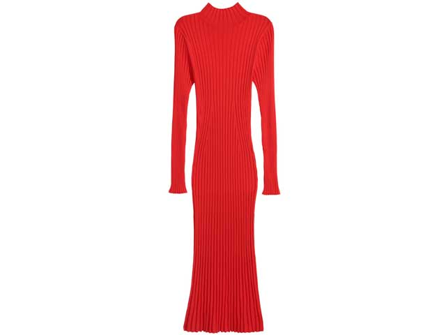 Red bodycon dress by H&M available at City Centres